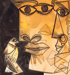 'Couple' (2011) by Paresh Maity