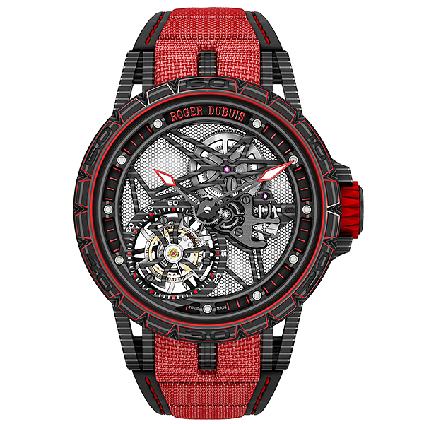 Roger Dubuis' Excalibur Spider Full Carbon watch