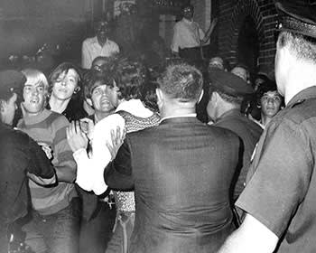 The police raid on the Stonewall Inn on June 28 1969