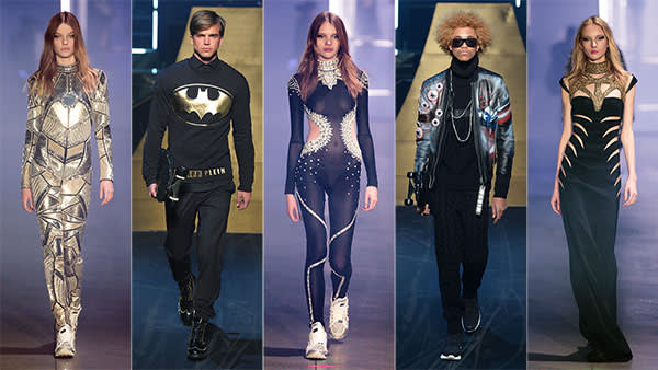 Philipp Plein menswear AW16 and womenswear AW16