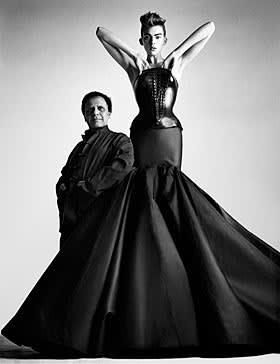 Azzedine Alaïa and bustier dress from S/S 2003
