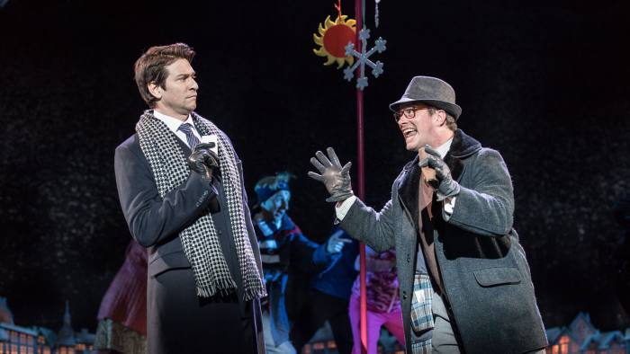 Andy Karl and Andrew Langtree in 'Groundhog Day'