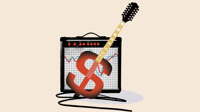 Illustration by Shonagh Rae of rock star economist