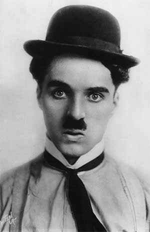 Charlie Chaplin photographed c1915