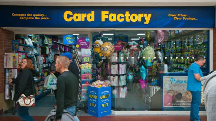 Card Factory Investors Receive Unwelcome Greeting