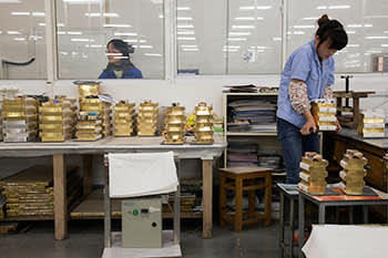 The Amity Press factory in Nanjing has printed 125 million Bibles since it was established in 1987