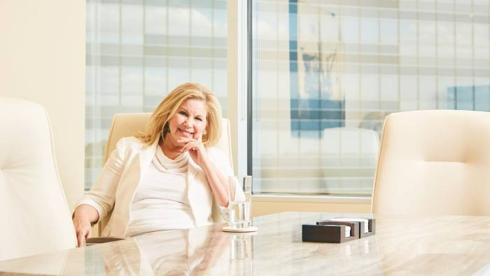 Deborah Stavis of Stavis & Cohen Financial is photographed in her office Wednesday afternoon March 22, 2017 in Houston, TX. Nathan Lindstrom Photography ©2017 Nathan Lindstrom