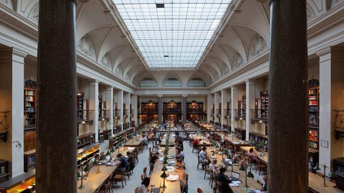 UniVie's Great Reading Hall