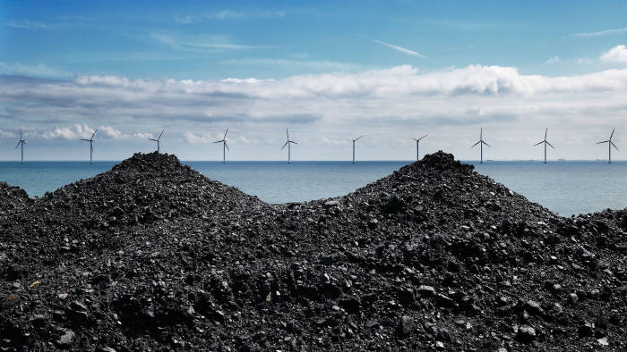 Wind turbines and coal
