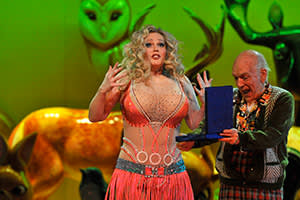 Eva-Marie Westbroek in the title role of 'Anna Nicole'