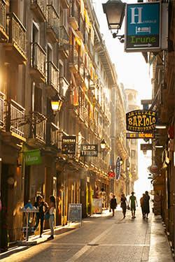 Fermin Calbeton Kalea in San Sebastián's Old Town