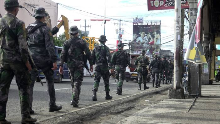 Philippines Duterte Declares Martial Law On Mindanao Home Island Financial Times