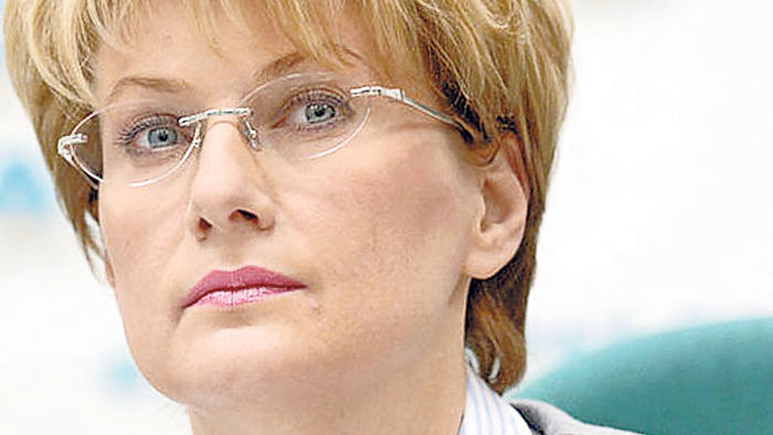 Olga Pleshakova, chief executive of Transaero