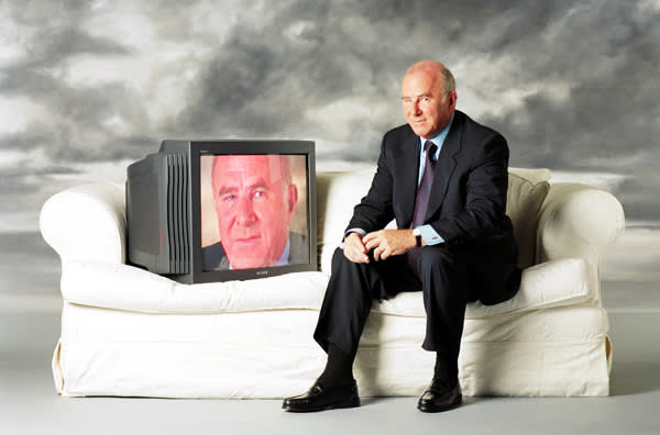 TV reviewer Clive James in 1995