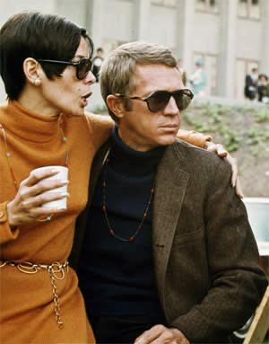 Steve McQueen in the film 'Bullitt' (1968)