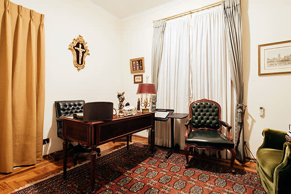 Office of Dom Luiz, who also lives in the house
