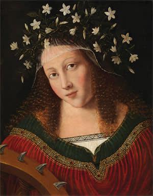 Bartolomeo Veneto's 'St Catherine' (c1520)