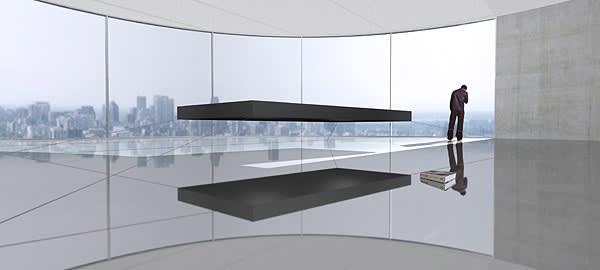 The Floating bed by Janjaap Ruijssenaars