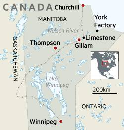 """thompson bills itself as the """"winter weather testing capital of north  america"""", where vehicles, engines and heavy-duty equipment are deliberately  left out"""