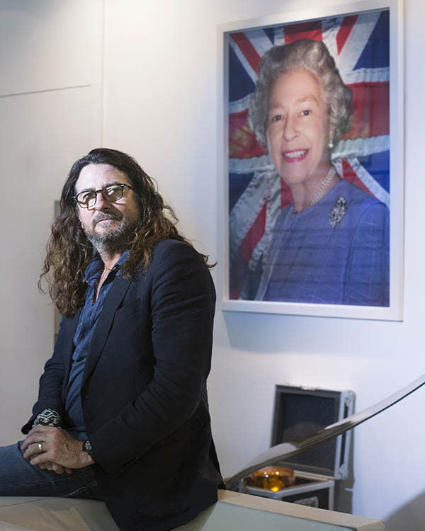 Jacques-Antoine Granjon, CEO and founder of Vente-privee.com, portrait by Magali Delporte© for the Financial Times