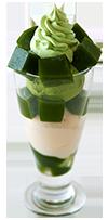 Saryo Tsujiri's shaved ice with green tea ice-cream
