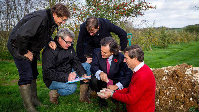French connection: the Kent land Taittinger will plant vines in
