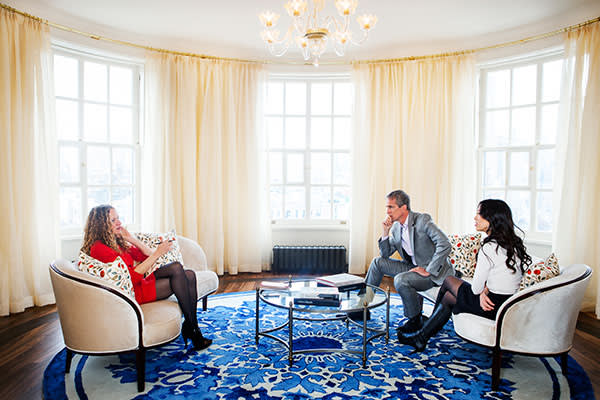 Katie Roiphe interviewing Jed Rubenfeld and Amy Chua at their New York Apartment, November 26 2013