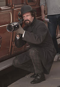 Ralph Fiennes directing 'The Invisible Woman', in which he also stars as an adulterous Dickens