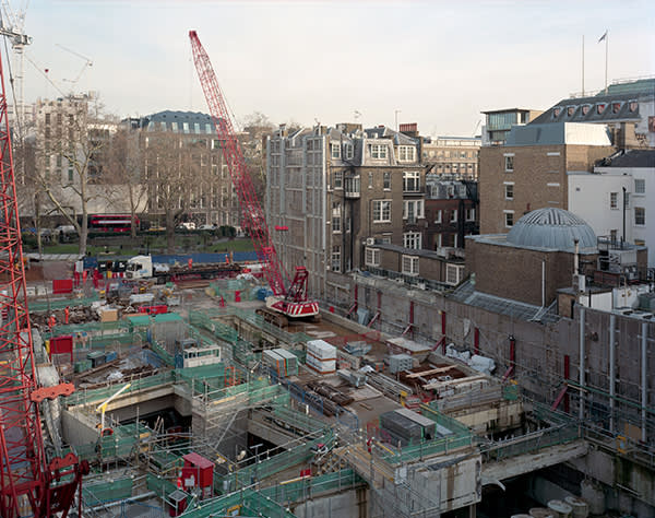 HANOVER SQUARE A joint development in Mayfair will provide a new Crossrail station, along with offices, shops, restaurants and a public square in W1