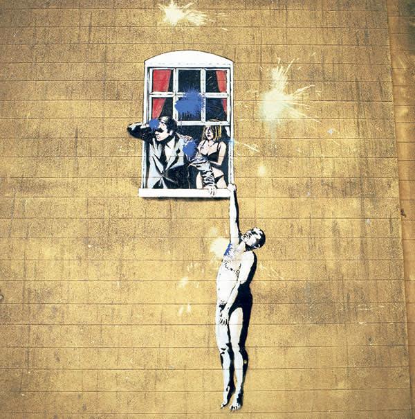 Banksy artwork in Bristol