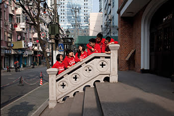 Kunshan road youth choir. The Kunshan Road Protestant church in Shanghai has a young congregation led by a woman priest. Protestants in China should only attend churches run by the official 'Three Self Patriotic Movement'