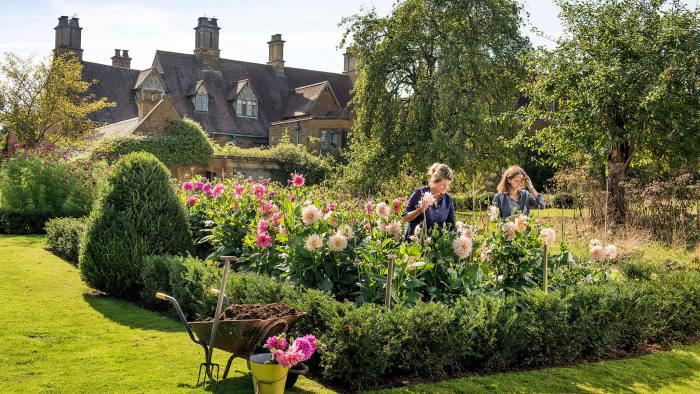 The Land Gardeners, Bridget Elworthy and Henrietta Courtauld