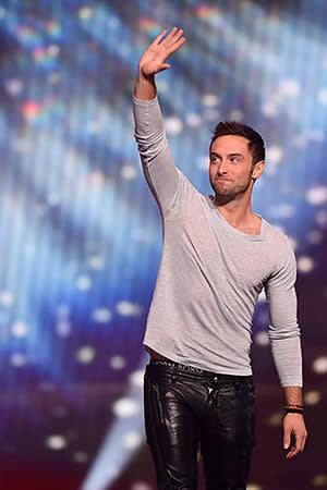 2015 Eurovision winner, Sweden's Måns Zelmerlöw