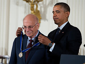 Daniel Kahneman and Barack Obama