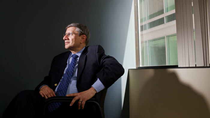 Bruce Freed, President of the Center for Political Accountability at his office in Washington