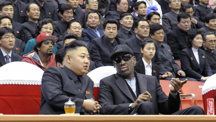 Vice Media sent former NBA player Dennis Rodman to North Korea to meet Kim Jongeun