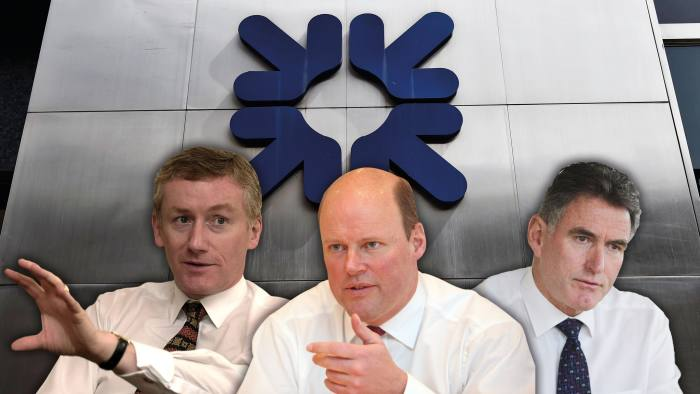 The chief executives of RBS (from left): Fred Goodwin, Stephen Hester and the current incumbent, Ross McEwan