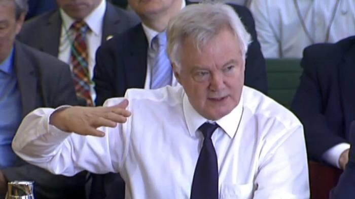 David Davis: 'It's not as frightening as some people think but not as simple as some people think'