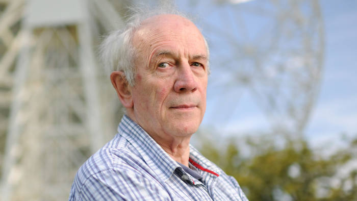 Alan Garner, Author, photographed at the Jodrell Bank Discovery Centre in Macclesfield, Cheshire, England.  Picture taken 9th August 2012. Picture by Matthew Pover/Writer Pictures