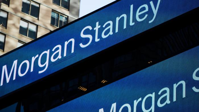 Morgan Stanley bursts forward in the banking pack | Financial Times