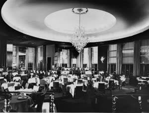 The Rainbow Room in the Rockefeller Centre