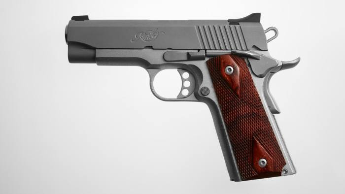 One time use only from Gun Series by Alastair Casey Kimber Pistol