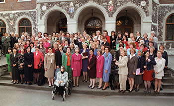 The 101 women Labour MPs dubbed 'Blair's babes