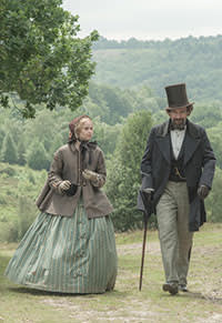"Ralph Fiennes and Felicity Jones in ""The Invisible Woman"""
