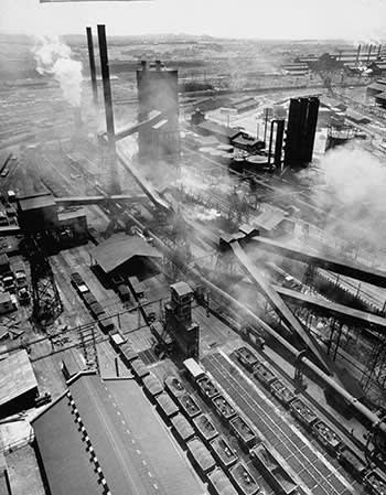 Tata's steel plant in Jamshedpur