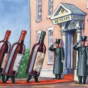 Illustration by Ingram Pinn of Bordeaux 2013