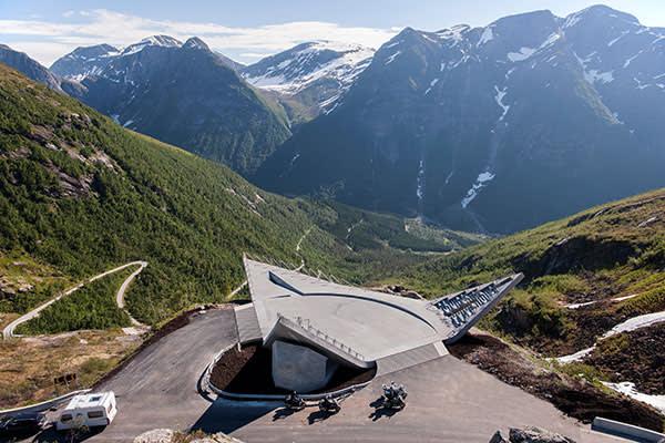 Utsikten (The View) by Code in western Norway