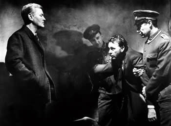 Peter Van Eyck and Richard Burton in the firm 'The Spy Who Came In From The Cold', 1965