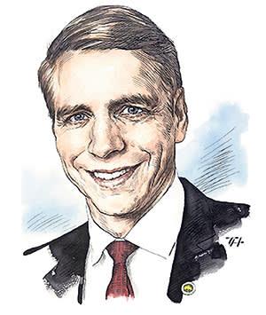 Per Bolund, Sweden's deputy finance minister