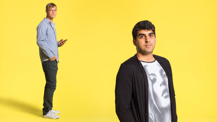 Product Hunt founder Ryan Hoover and The Monkey Inferno CEO Shaan Puri
